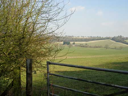 view of Oxfordshire countryside